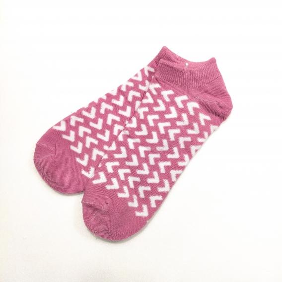 Calcetines corto para mujer y hombre talla 35-40 colores originales divertidos dibujos, 100% algodón, color rosa