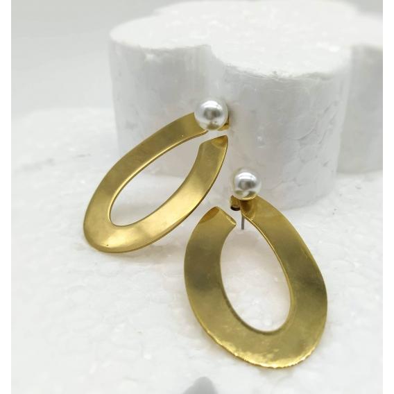 Pulsera para mujer de color dorado y acero inoxidable. Una joya para regalar.