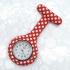 Reloj de bata para hombre y mujer de enfermera con cierre de broche silicona flamenco