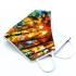 Mascarilla reutilizable facial de tela de colores divertida con originales diseños, lavable con apertura para cambiar el filtro.