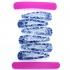 Horquillas de pelo de color azul para mujer, accesorio para niña, color azul, diseño original.