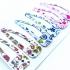Horquillas para mujer y niña, pack de 6 unidades tamaño grande, de distintos color, accesorio.