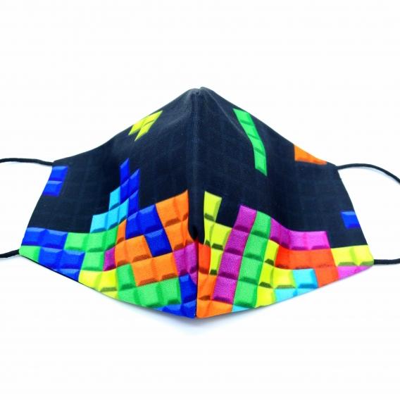 Mascarilla tetris