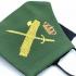 Mascarilla guardia civil color verde