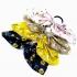 Gomas pelo con lazo de flores, distinto colores accesorio moda