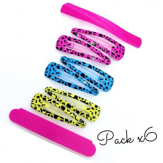 Accesorio para el pelo, horquillas de colores para niña y mujer.