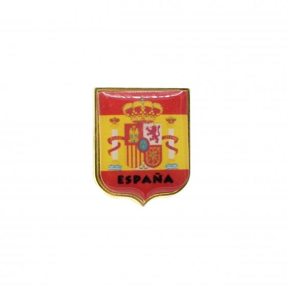 Pin del escudo de España para adornar cualquier objeto.