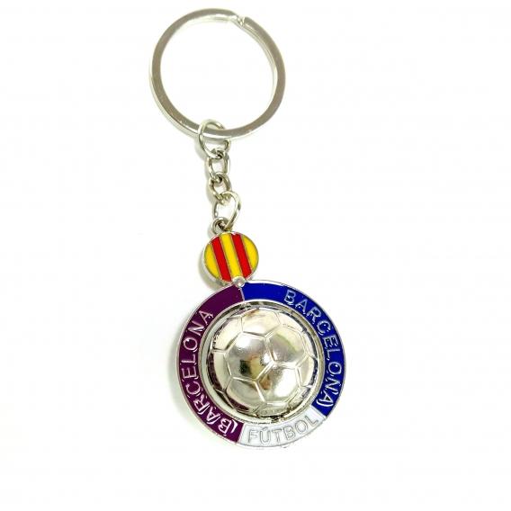 Llavero Barcelona Futbol para hombre regalos moda originales balon llaves coche españa