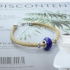 Pulsera para mujer de corcho original 19cm brazalete colgante original bisuteria de regalos