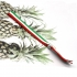 Pulsera bandera del País Vasco , brazalete Italia, de tela con cierre ajustable.