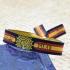 Pulsera virgen del Pilar con la bandera de España,zaragoza