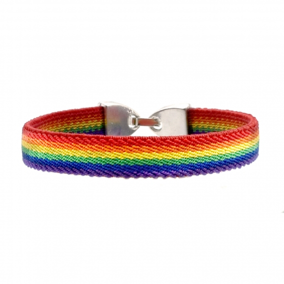 Pulsera orgullo gay, LGTBI, lesbianas, trans y arcoiris para hombre y mujer