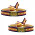Pulsera virgen del Pilar con la bandera de España,zaragoza.