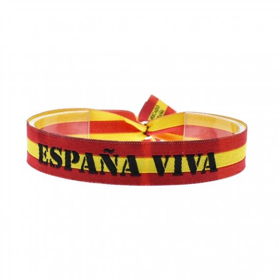 Pulsera bandera España, España Viva para hombre y mujer.