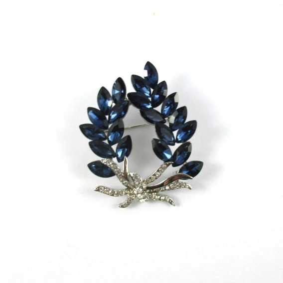 Broche imperdible Ramilliari facetado ligero