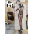 Vestido de lenceria Ropa interior erotica Sexy Talla UNICA 36-48 para mujer encaje Panti Media para dormir