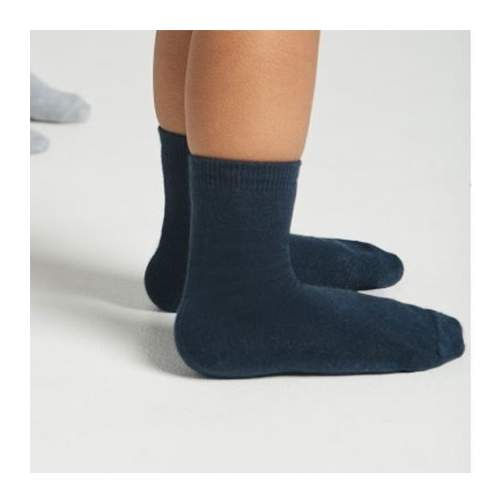 Calcetines Lisos color azul para mujer y Hombre Talla 35 36 37 38 39 40 41