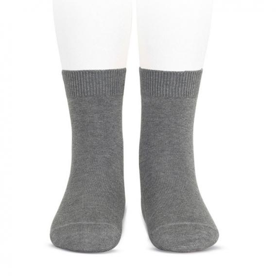 Calcetines Lisos color lila sin bordados ni lunares, calcetin media morado para mujer y Hombre Talla Unica 35-41