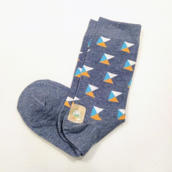 Calcetines colores talla 43-46 hombre azul para regalos oficina invierno