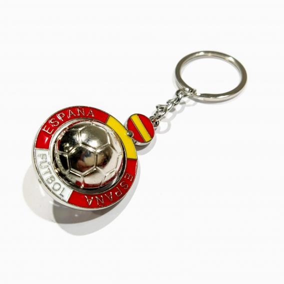 Llavero de balon de Bandera de España