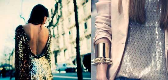 Como combinar un collar dorado y complementos de bisuteria