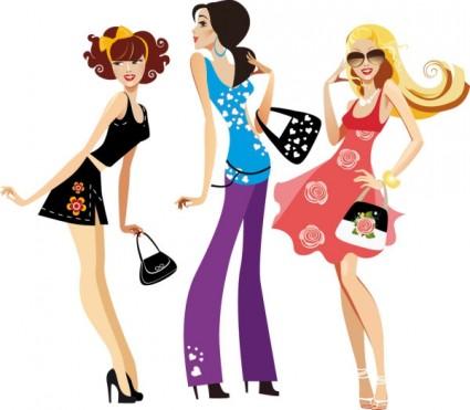 collares y pulsera de moda para mujer