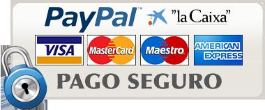Pago seguro mediante PayPal