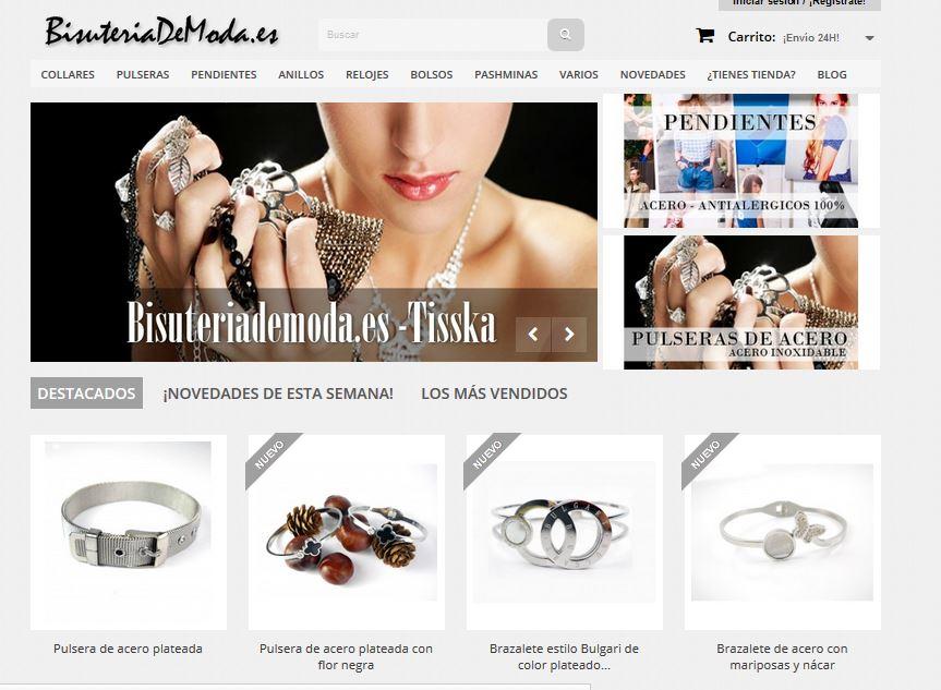 Tienda bisuteria de moda online españa