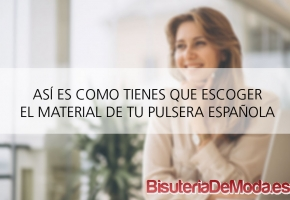 Pulseras con bandera de España para hombre y mujer