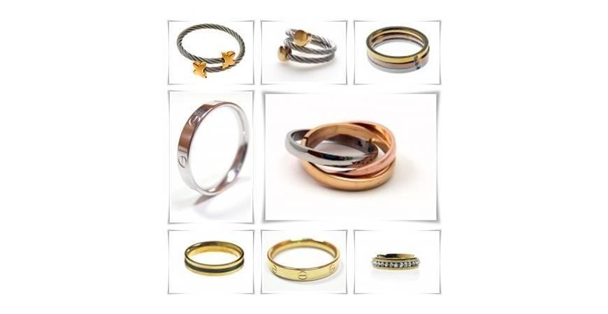 ¿Porque usar anillos de acero para mujer?