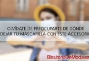 Cordón para mascarillas de la bandera de España que no querrás perder