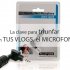Micrófonos para móvil y USB usados para vlogs