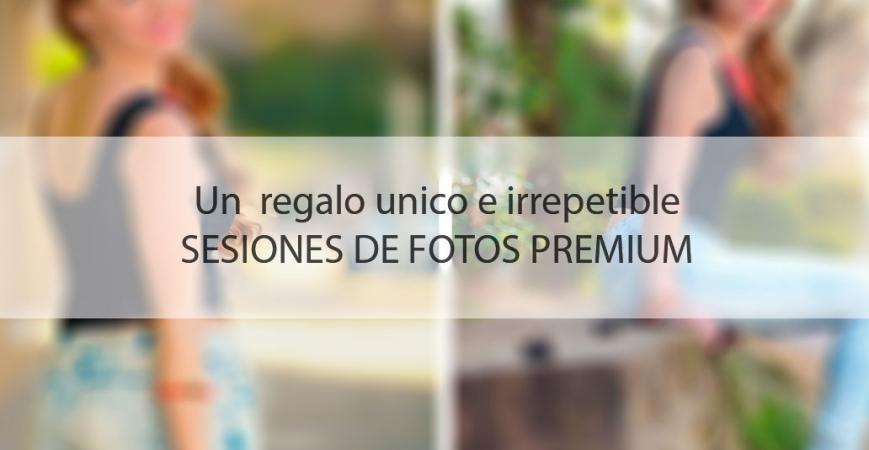 ¡Regale una sesión de fotos o video para momentos especiales y únicos!