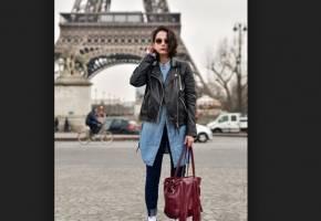 La sencillez y belleza del look parisino