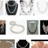 Collares de perlas como complemento mágico para combinar