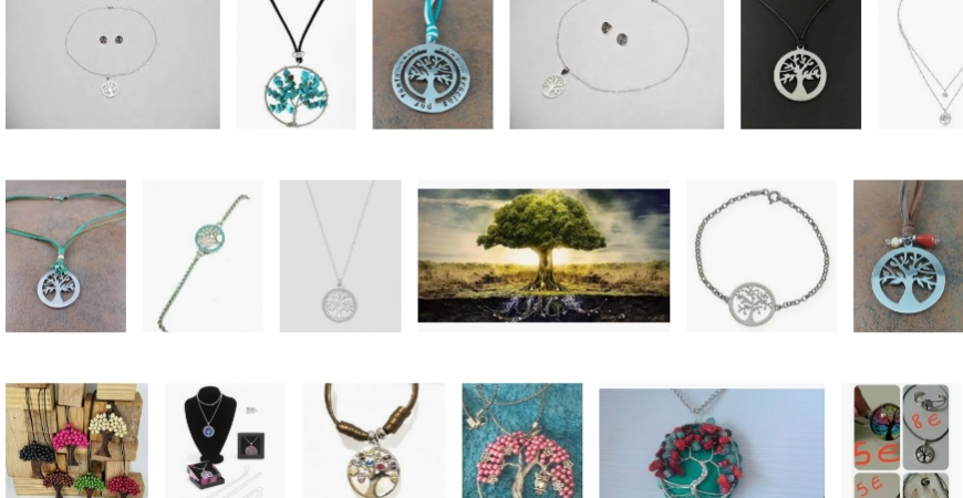 Moda de joyas y accesorios del Árbol de la vida para comprar online